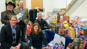 The West Slope Colorado Oil & Gas Association's Annual Holiday Party Toys for STRiVE