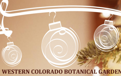 2019 Sensory Christmas at the Western Colorado Botanical Gardens