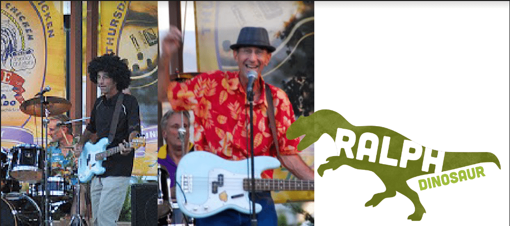 Ralph Dinosaur at Garden Groove August 24 2018 | Western Colorado Botanical Gardens