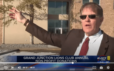 The Grand Junction Lions Club Include STRiVE in their 2019 Giving.