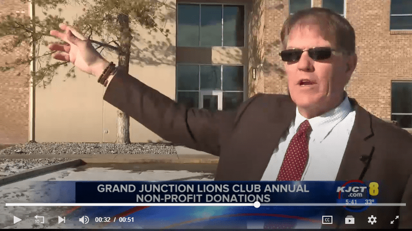 GJ Lions Give to STRiVE and Doug Sorter
