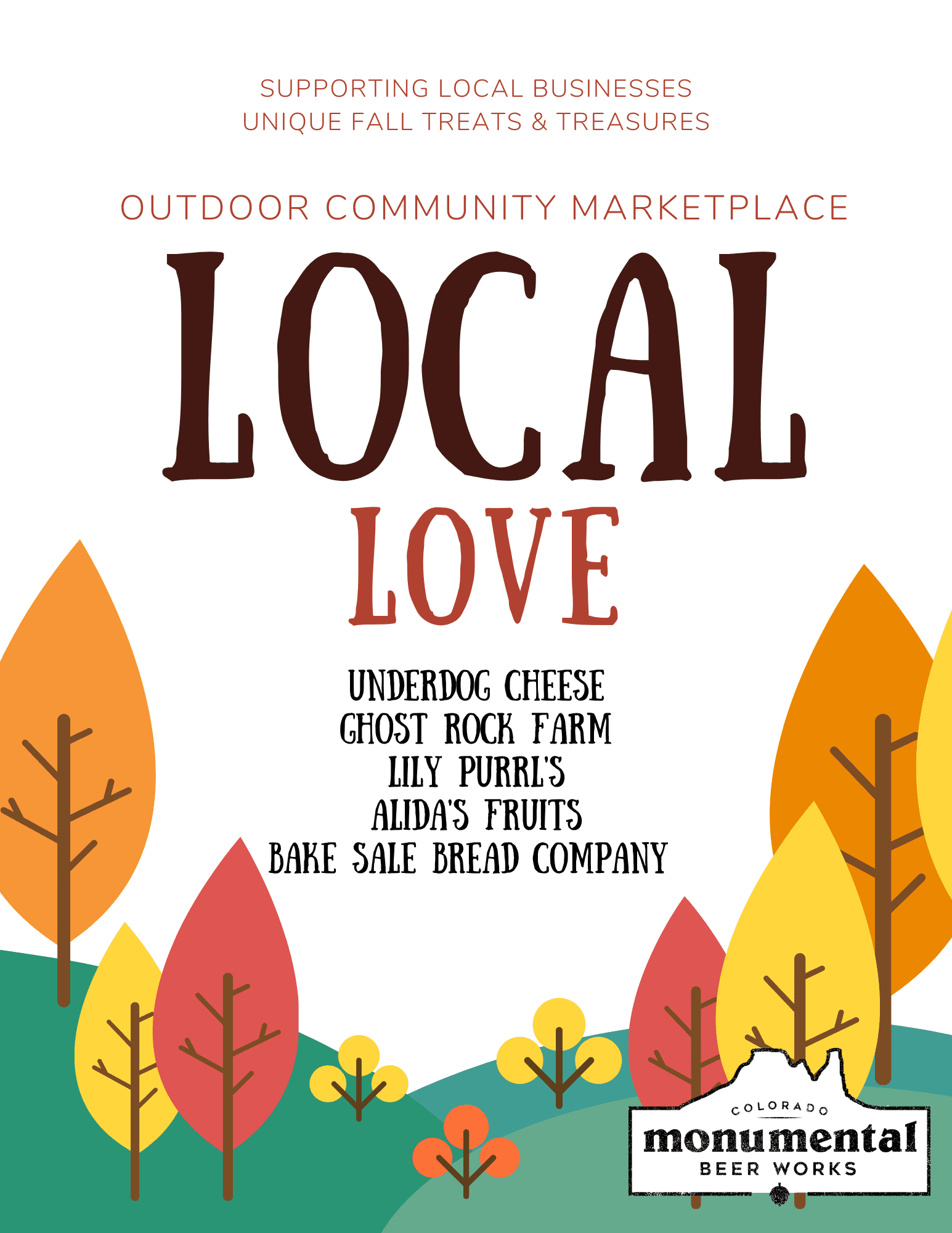 Fall Local Love Flyer