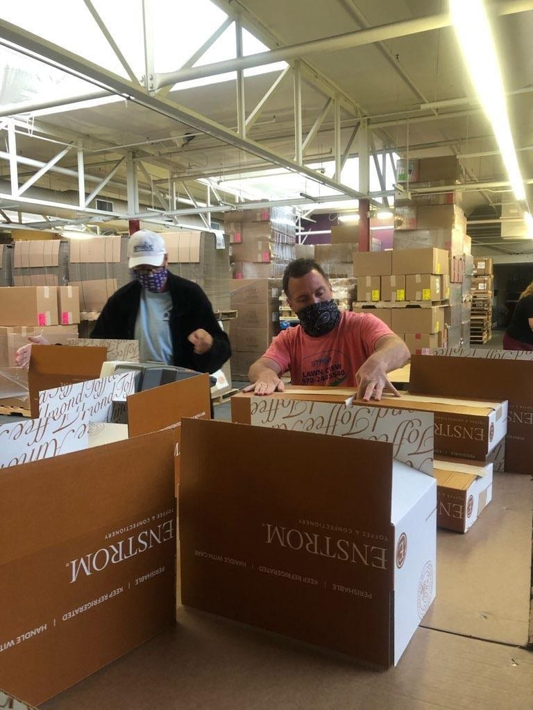 Enstrom Candies employs enthusiastic temp workers
