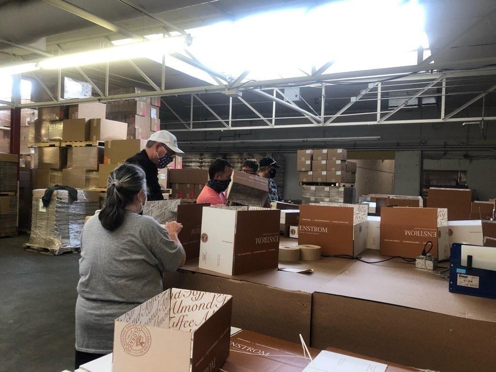 Enstrom Candies employs enthusiastic temp workers through the nonprofit STRiVE